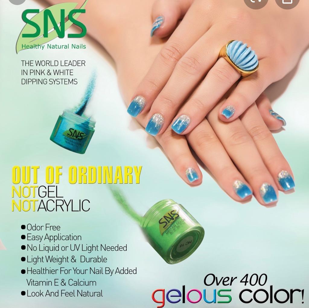 SNS Nails (Hot Trend)